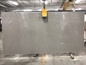 Cararra Grey quartz slab
