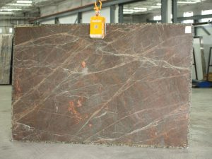Majestic Brown quartzite slab