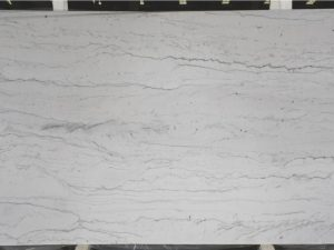 Opus White 3cm quartzite slab
