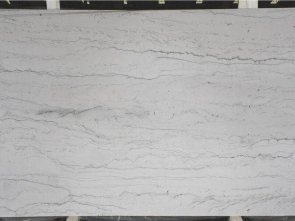 Opus White 3cm quartzite slab