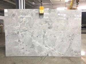 Super White 2cm quartzite slab