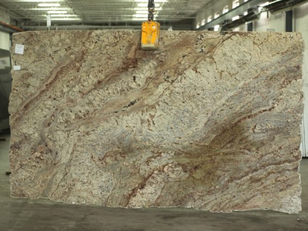 Typhoon Bordeaux granite slab