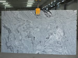 Viscount White granite slab
