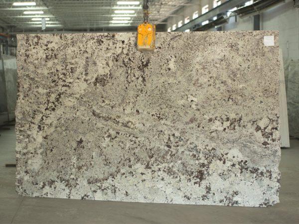 Alaska white granite slab