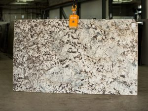 blue diamond granite slab