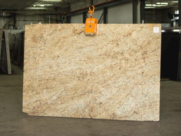 colonial gold granite slab
