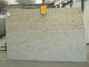 giallo ornamental light granite slab