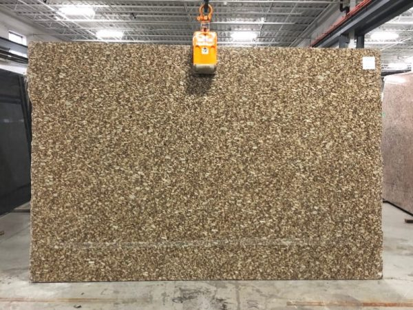 gold fiorito granite slab